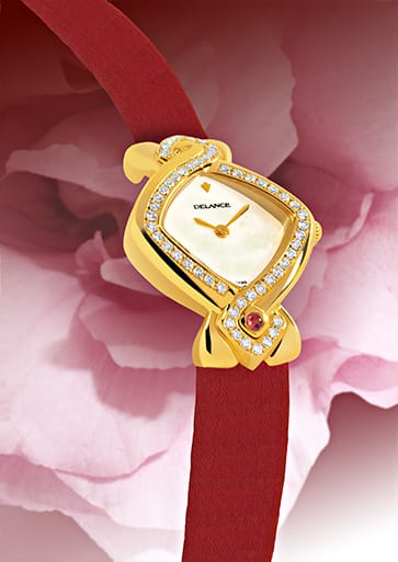 INFINITY GOLD IN RED - Rouge comme amour
