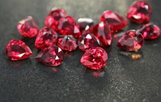 Le rubis encourage l'enthousiasme pour la vie.