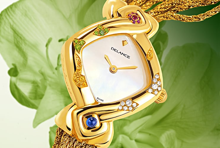 "We selected the ""Feng Shui Dawn"" Delance watch to celebrate December, a month where harmony should prevail in all families."
