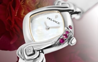 Oceane: Declaration of love, a personalized Delance watch Ocean collection