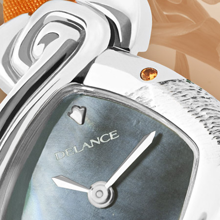 Coraline: The energy of life, a personalized Delance watch Ocean collection