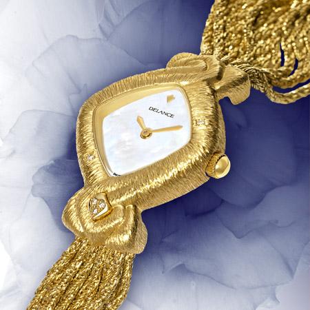 Doris : Sensible et intelligente, une montre Delance personnalisée