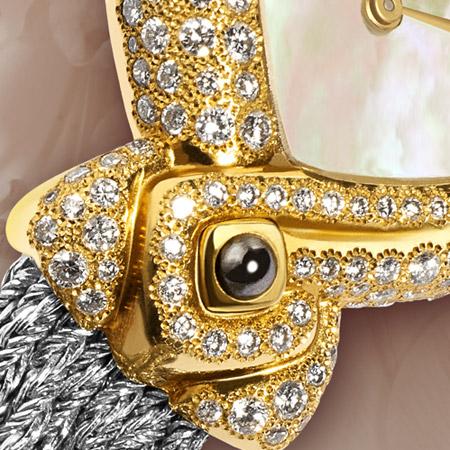ndra : Solaire et lunaire, une montre Delance personnalisée