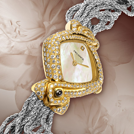 Indra: Sunshine and moonlight, a personalized Delance watch Ocean collection
