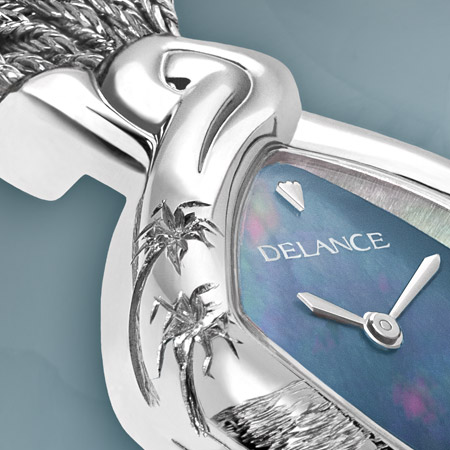 Marina: Water source of life, a personalized Delance watch Ocean collection