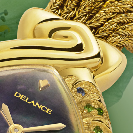 Ondine: Genie of the Waters, a personalized Delance watch Ocean collection