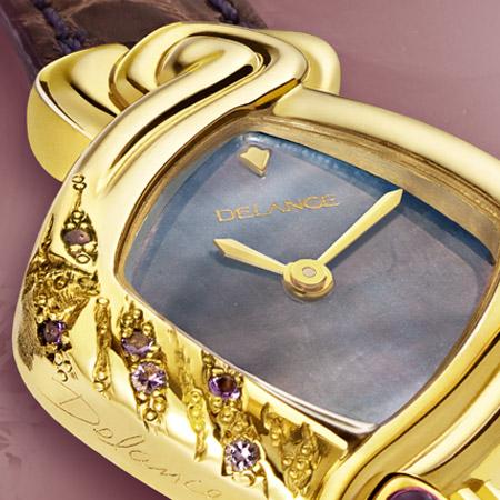 Ulla: La force de l'eau, une montre Delance personnalisée